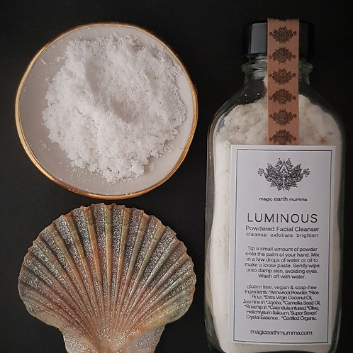 LUMINOUS Powdered Facial Cleanser