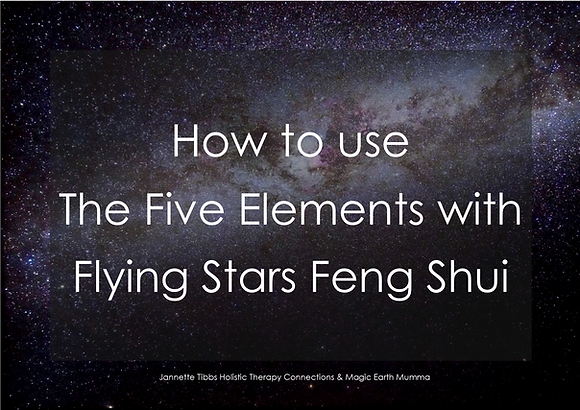 How to use The Five Elements with Flying Stars Feng Shui