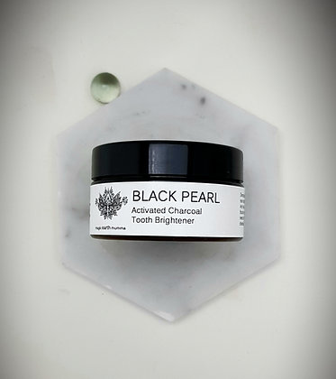 BLACK PEARL Activated Charcoal Tooth Brightener