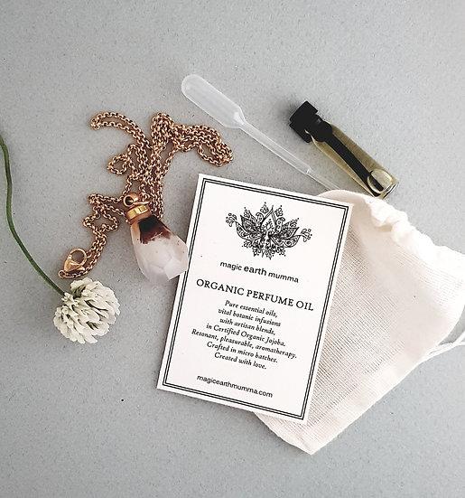 Ocean Jasper Personal Diffuser Pendant Perfume Gift Set