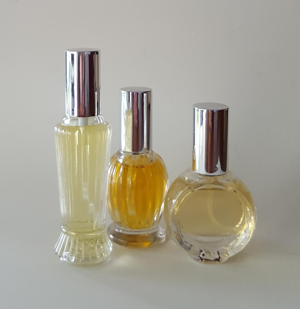 fancy perfume atomisers, perfume bottles, edp bottles, botanical perfumery