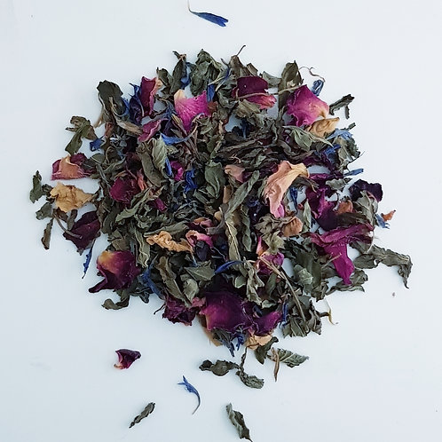 PETALS & MINT Herbal Tea Blend