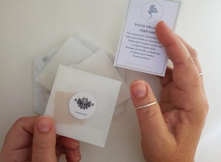New! Perfume Balm Samples