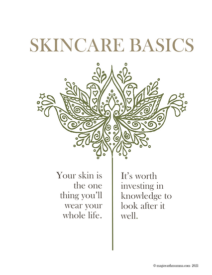 Skincare Basics eBook - Learn how to DIY your own skincare range