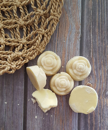 Raw Cacao Butter Rosettes