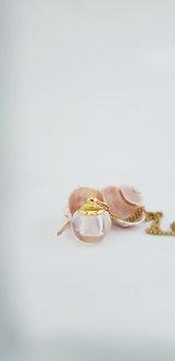 Crystal Glass Bauble Pendant Perfume Gift Set