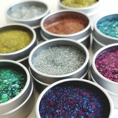 BioGlitter Balms - plastic free glitter make up