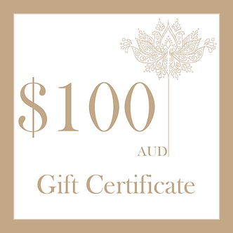 $100 Gift Certificate from MEM