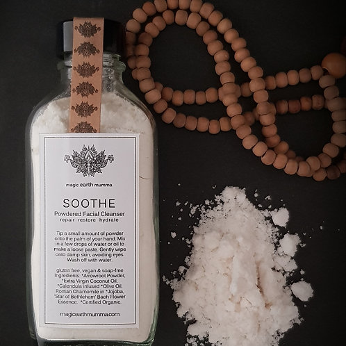 SOOTHE Powdered Facial Cleanser