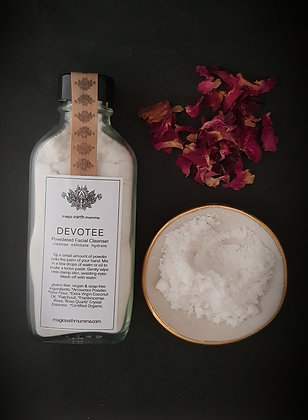 DEVOTEE Powdered Facial Cleanser