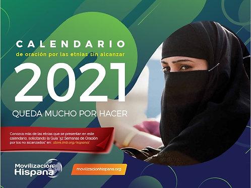 10 Calendarios de Oracion 2021