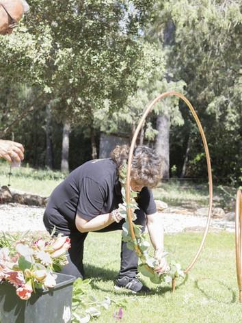 Décoration florale  mariage - Laurence Lacheré fleuriste antibes