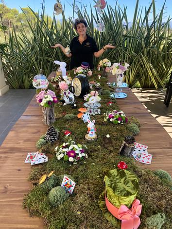 Décoration florale  mariage disney  - Laurence Lacheré fleuriste antibes