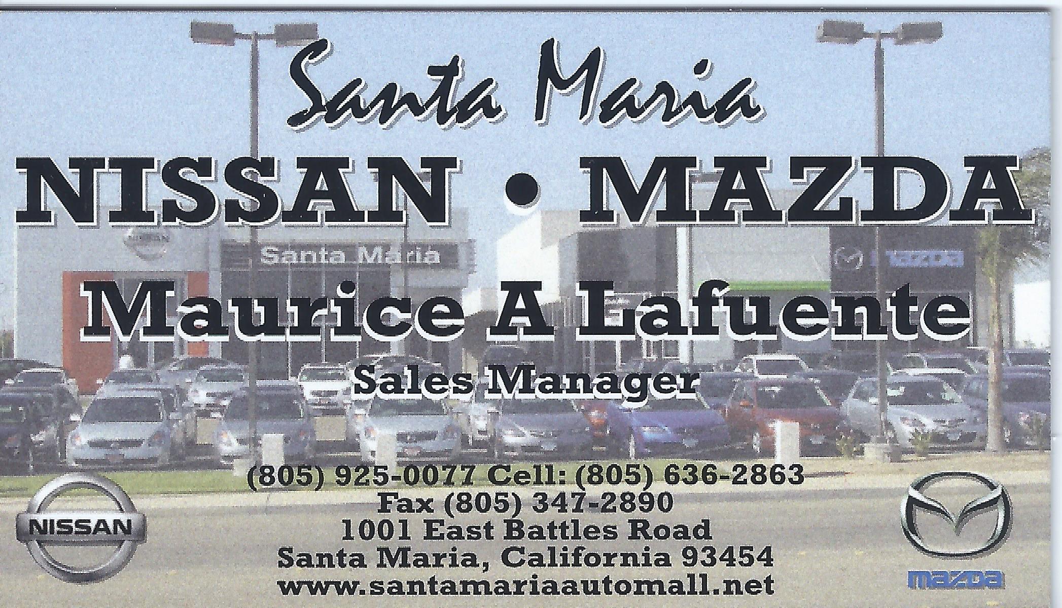 SM Nissan Mazda - Maurice LaFuente
