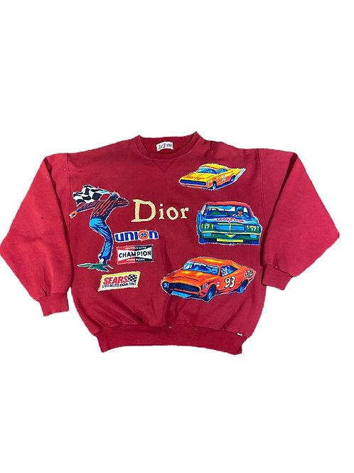 Dior  x NASCAR crewneck