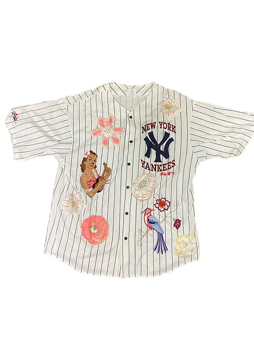 Yankee floral jersey