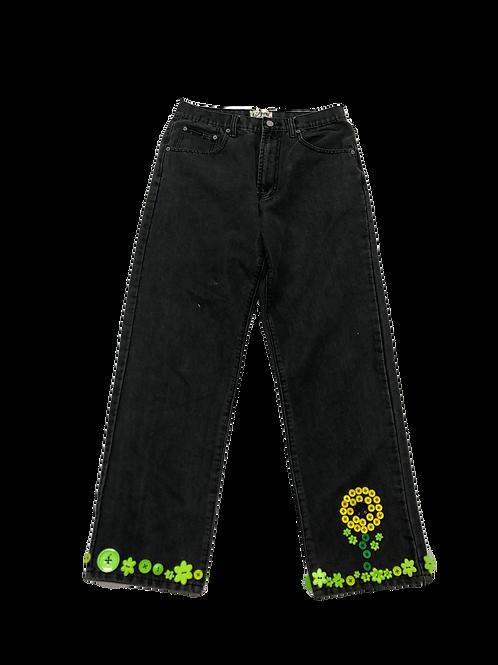 Sunflower Button Jeans