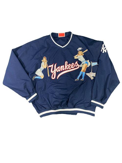 New York Yankees Pin Up girl windbreaker
