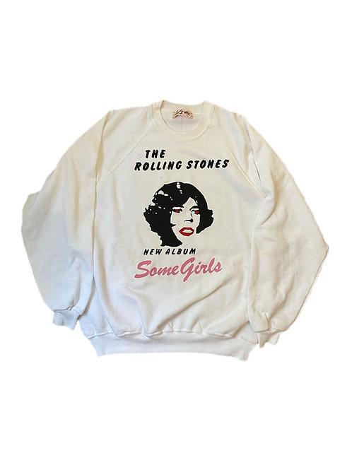 Rolling Stones Some girls crewneck