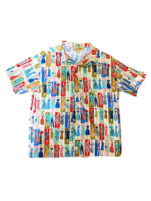 Dress Pattern short sleeve button down