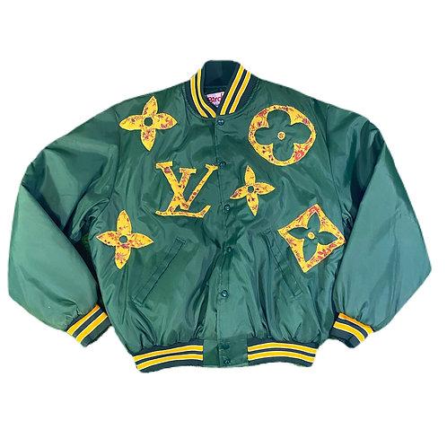 LV monogram baseball jacket