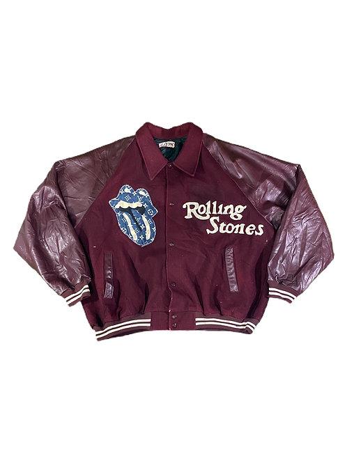 Rolling Stones x LV varsity jacket