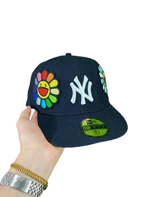 Murakami x Yankees fitted hat