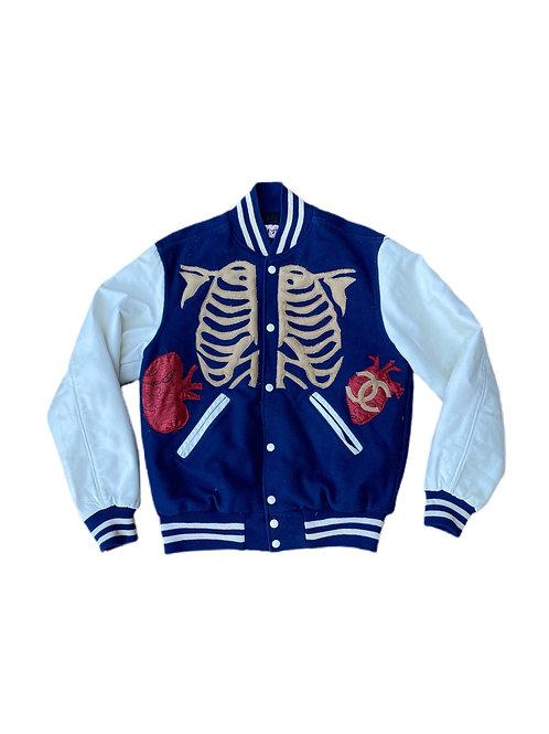 Skeleton CC varsity jacket