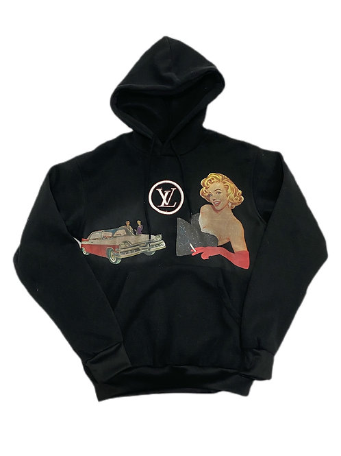 Marilyn Monroe LV hoodie