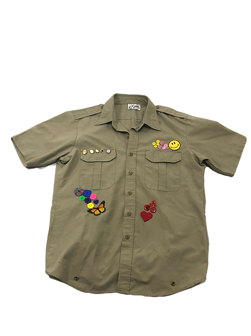 Love and Peace Boyscout Shirt