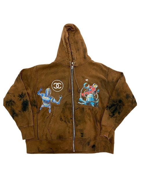 Champion Robot CC zip up hoodie