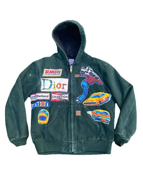 Carhartt x Dior Nascar duck jacket