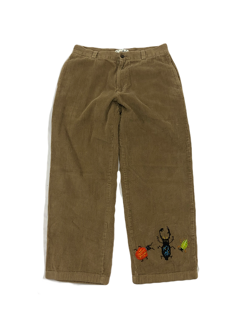 Tan Corduroy Insect Trousers