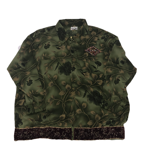 Silk Floral Jacket
