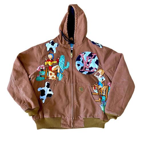 Carhartt x LV rodeo duck jacket