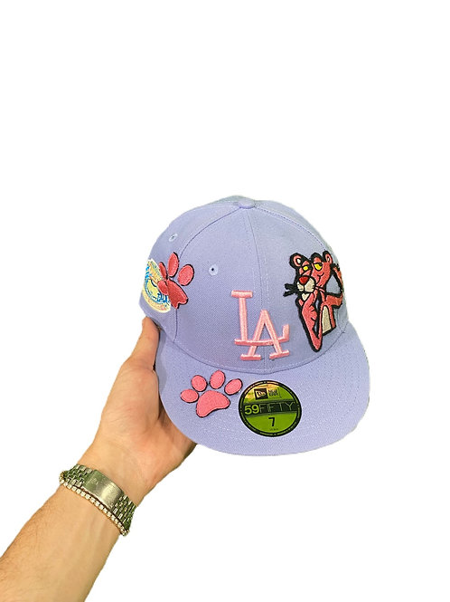 Lavender Pink panther fitted cap