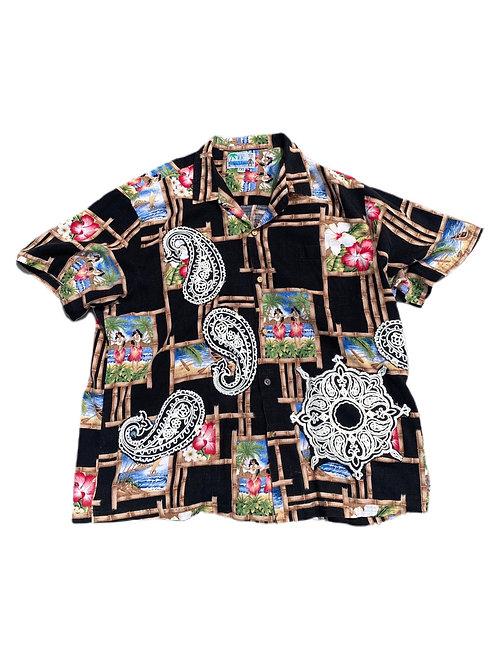 Paisley Hawaiian shirt