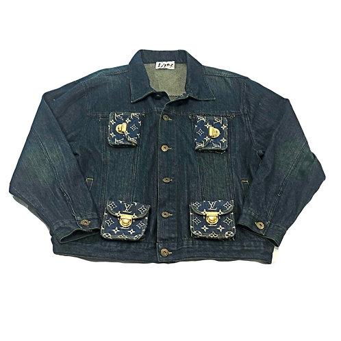 Louis Vuitton Denim Cargo Jacket Bootleg