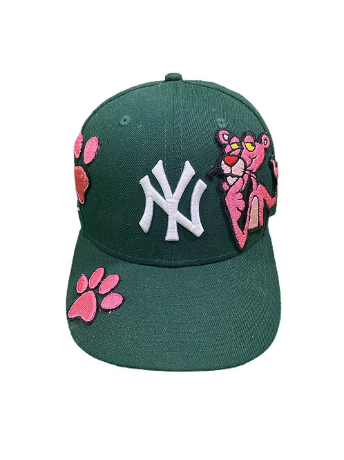 Pink panther fitted cap