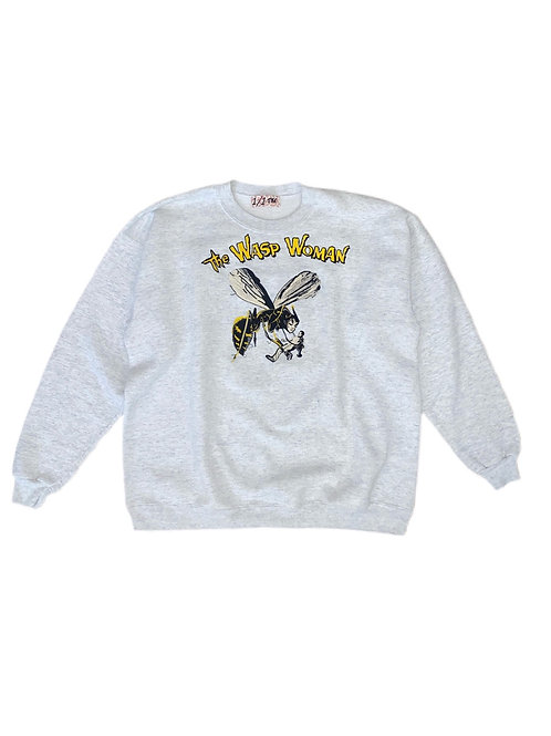 Wasp woman embroidered crewneck