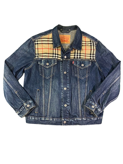 Burberry x Levi's Denim Trucker jacket