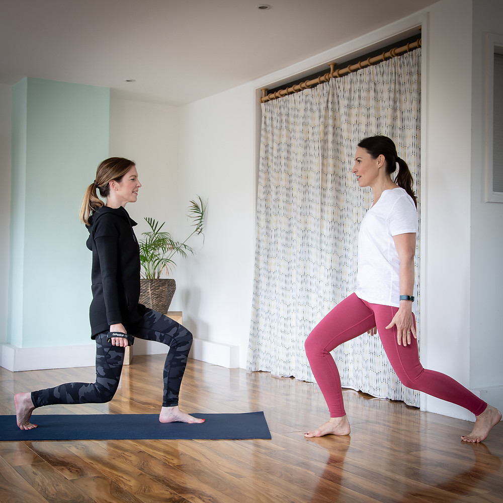Pilates for runners, yoga for runners, back pain class