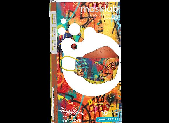 "MaskLab ""Coco Love"" KF Version 2 Disposable Respirator - 10 Pack  (FFP2)"