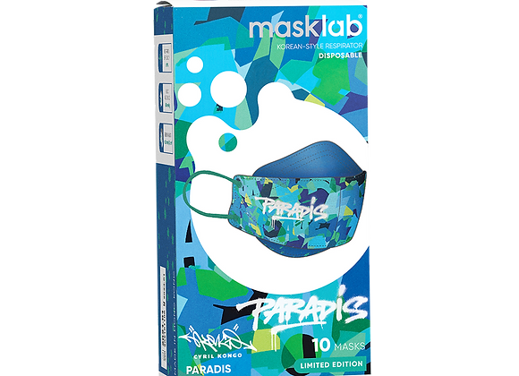 "MaskLab ""Paradis"" KF Version 2 Disposable Respirator - 10 Pack  (FFP2)"