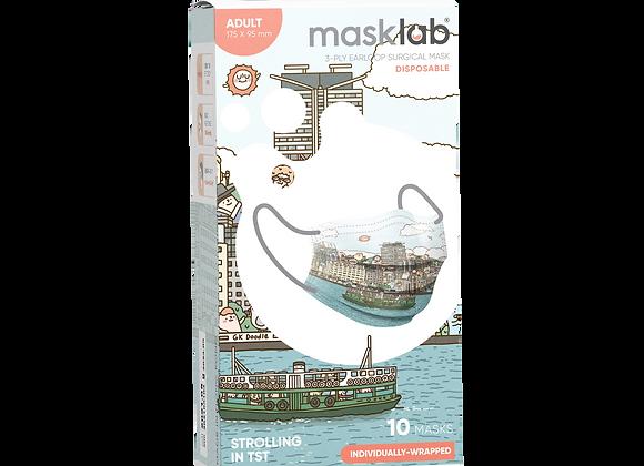 Adult Masklab Strolling In TST Masks ASTM Level 3 (10-pack)