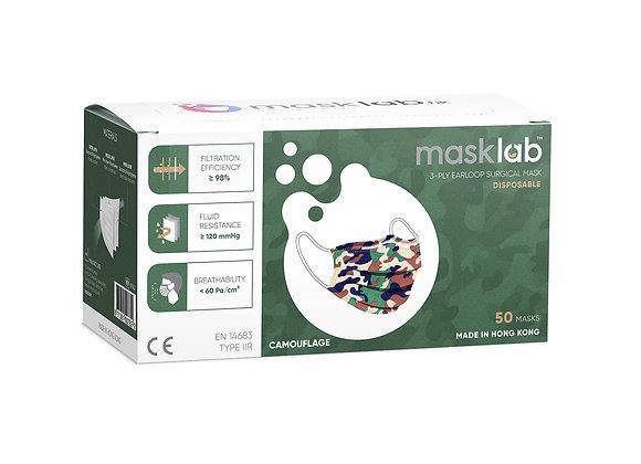 Kids Camo Masks ASTM Level 3 (50-pack)