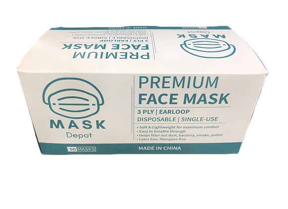 Mask Depot Premium Face Mask (BASIC)