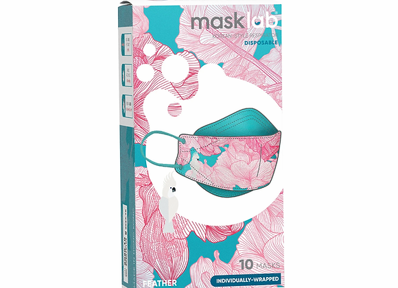 MaskLab KF Series Disposable Respirator - 10 Pack -Feather