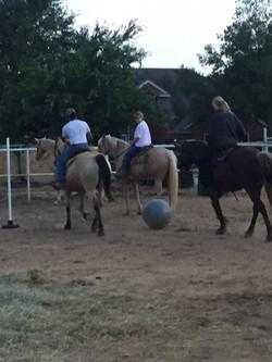 Soccer on Horseback