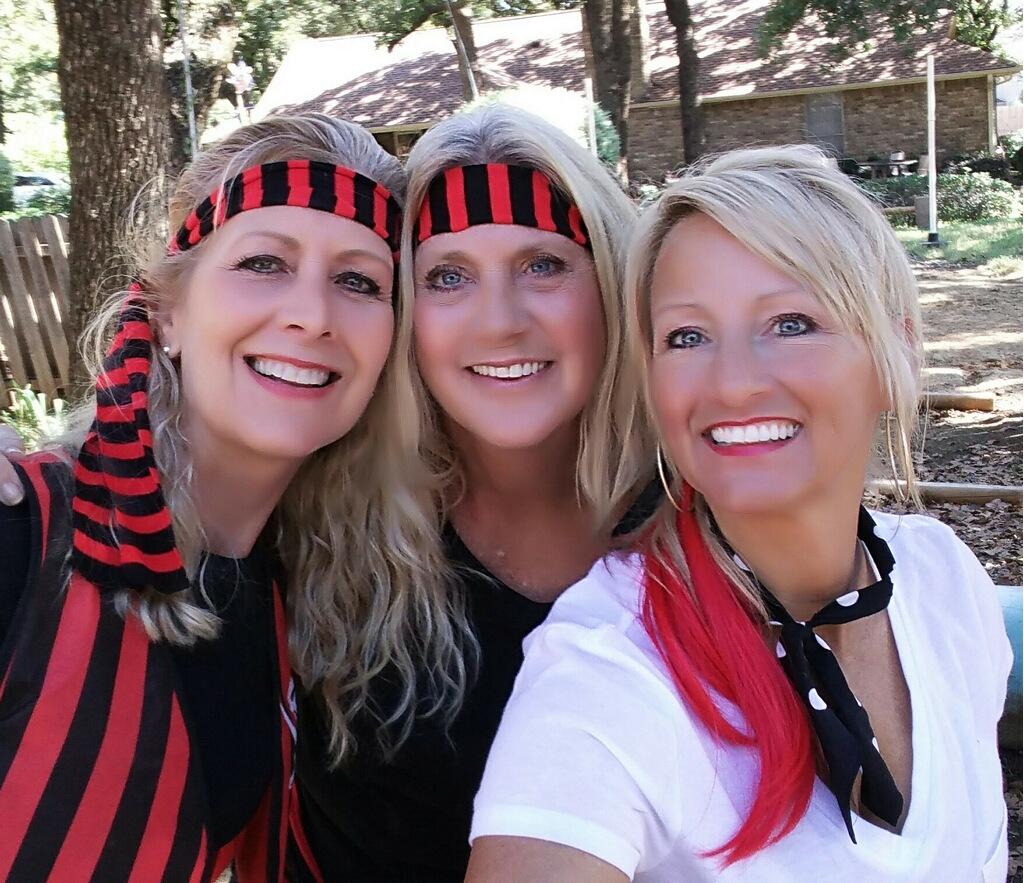 Lori, Kim and Cristi
